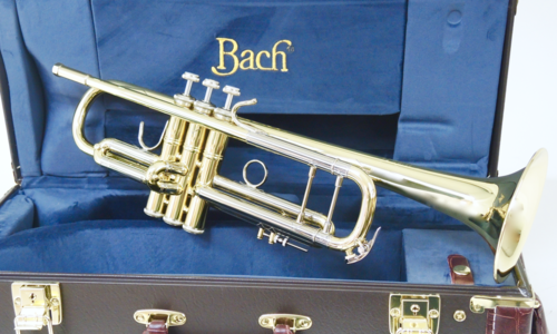 Bb-Trompete Bach Stradivarius 180-72 Messing lackiert