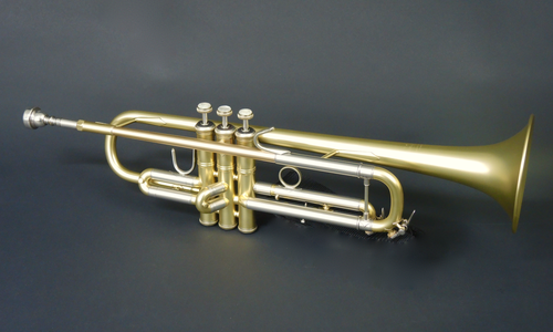 Bb Trompete Bach VBS1-BE 'Brasserie Edition' Messing, Matt lackiert